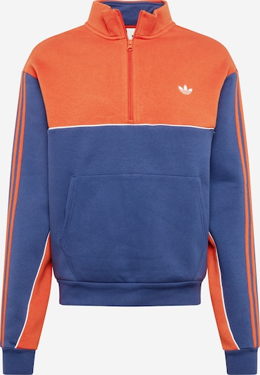 ADIDAS ORIGINALS Sweatshirt Action Sports Lifestyle Pullover in dunkelblau / orange, Produktansicht