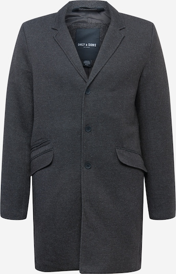 Only & Sons Tussenjas 'JULIAN KING' in de kleur Zwart gemêleerd, Productweergave