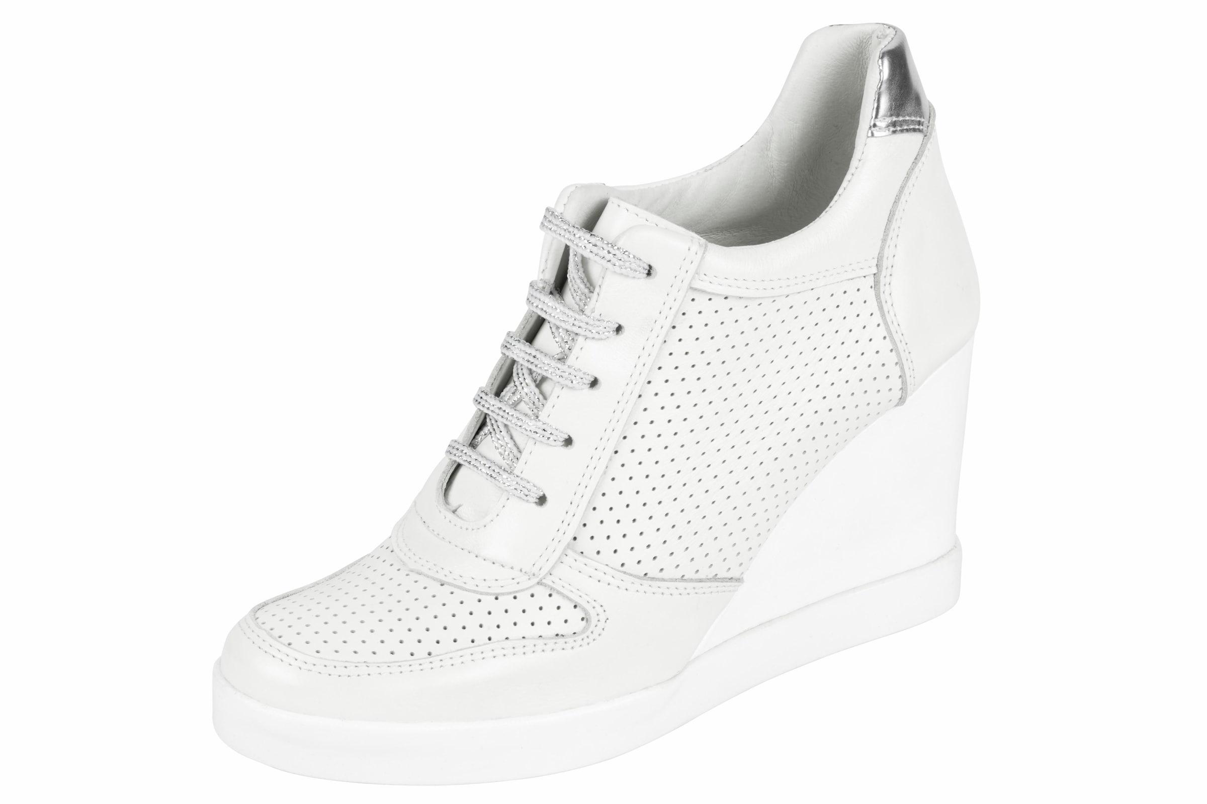 Sneakernews Online heine Heine Keilsneaker mit Perforation Amazon Online Spielraum Erkunden n4KawQ7TqP