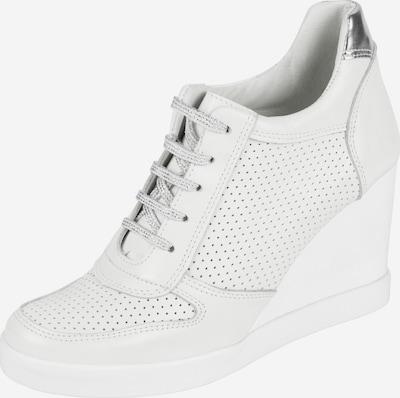 heine Keilsneaker mit Perforation in weiß, Produktansicht