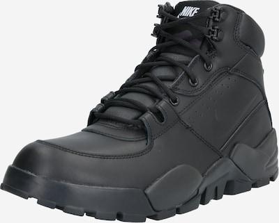 Nike Sportswear Bottines à lacets en noir, Vue avec produit