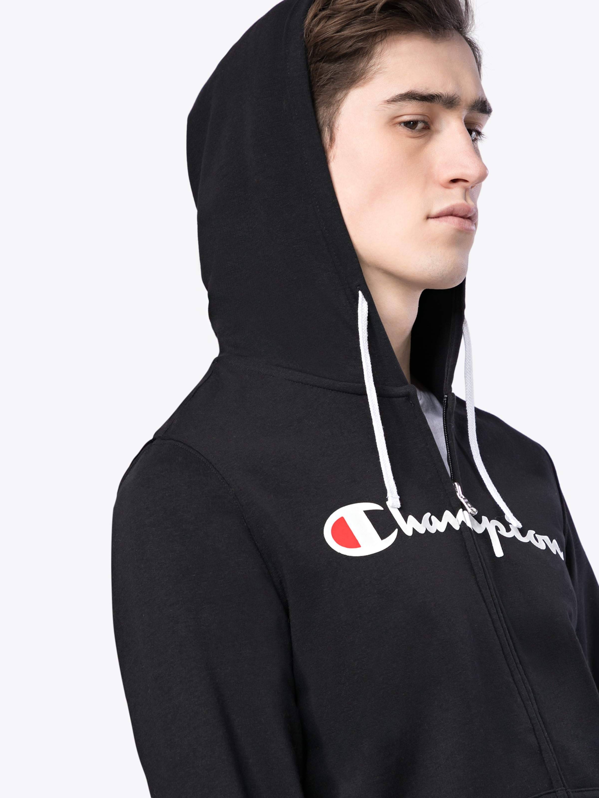Champion Authentic Athletic Apparel Kapuzenshirt 'Hooded Full Zip Sweatshirt' Verkauf Der Neuen Ankunft sS6tLM4a
