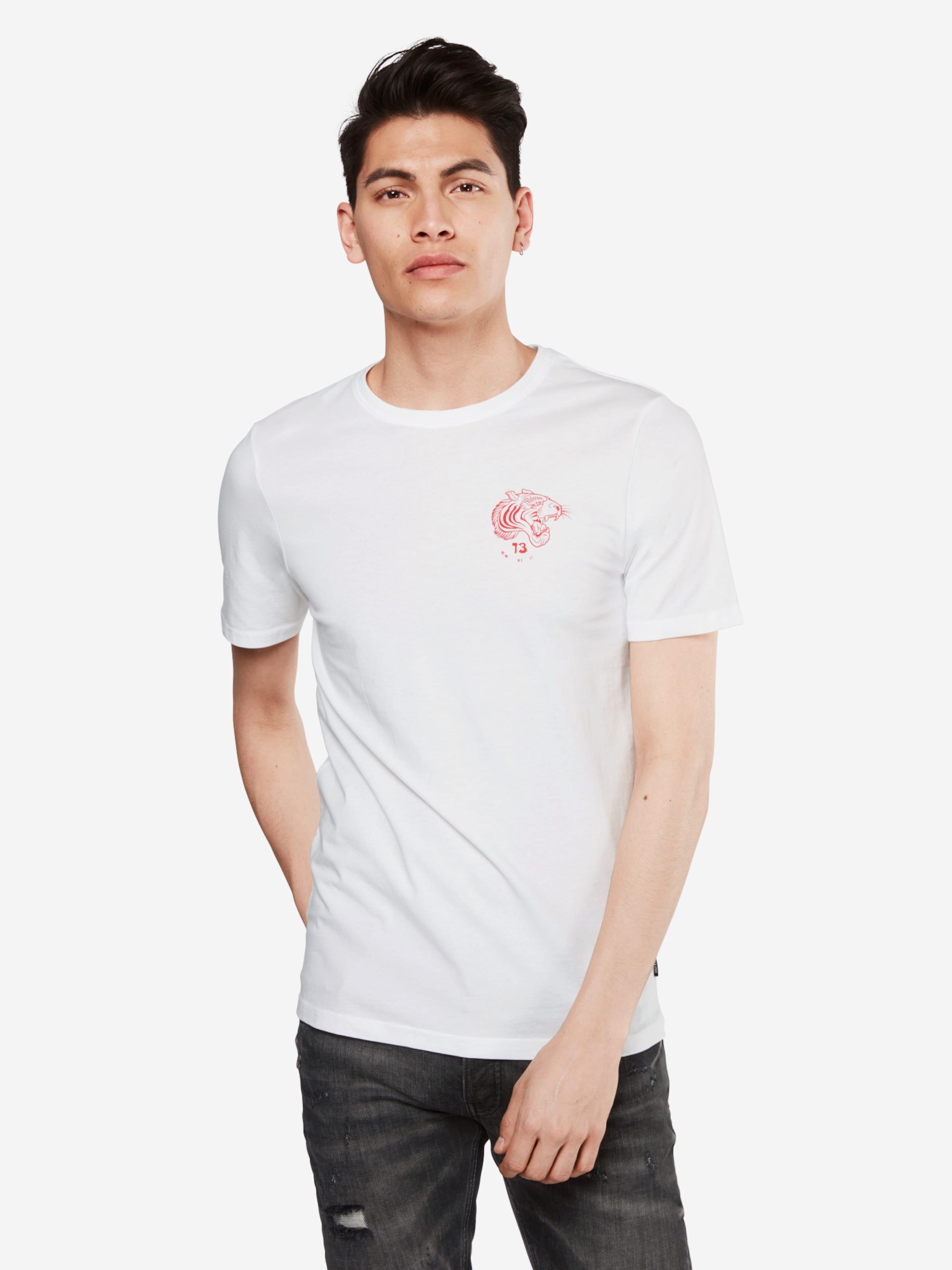 Only & Sons T-Shirt 'TIGER BACK SS EXP' Kosten Verkauf Online Online Kaufen SqmmDeFUw