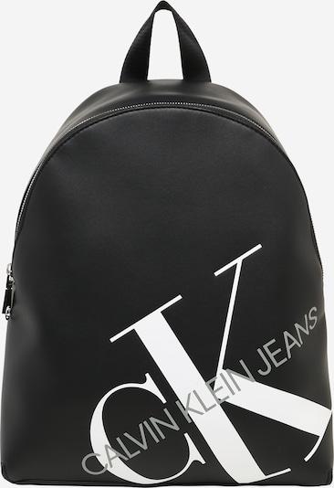 fekete / fehér Calvin Klein Jeans Hátizsák, Termék nézet