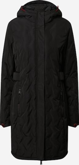 KILLTEC Outdoormantel 'Vogar' in de kleur Zwart, Productweergave