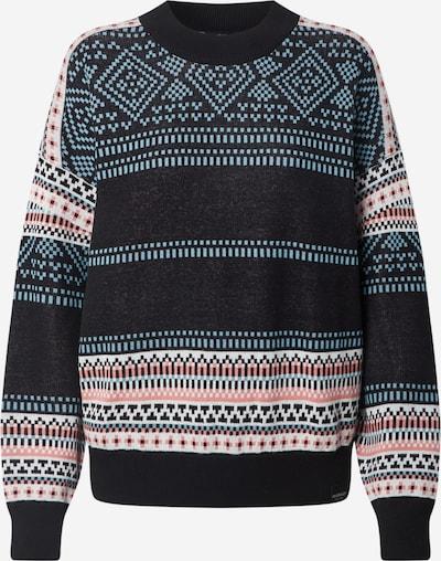 Iriedaily Sweter 'Gini' w kolorze podpalany niebieski / jasnoróżowy / nakrapiany czarnym, Podgląd produktu
