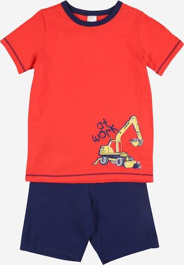 SCHIESSER Pyžamo - modré / žlté, Produkt