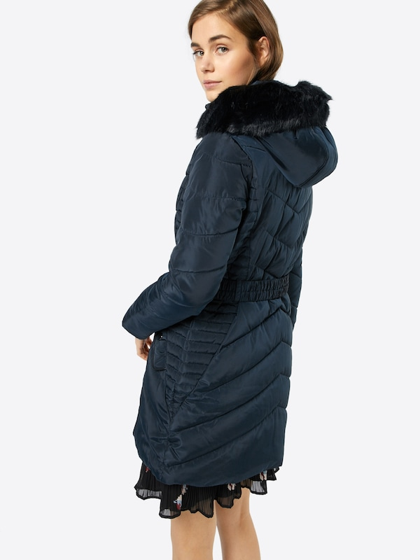 Dorothy Perkins Steppmantel 'LUXE BELTED PUFFA'