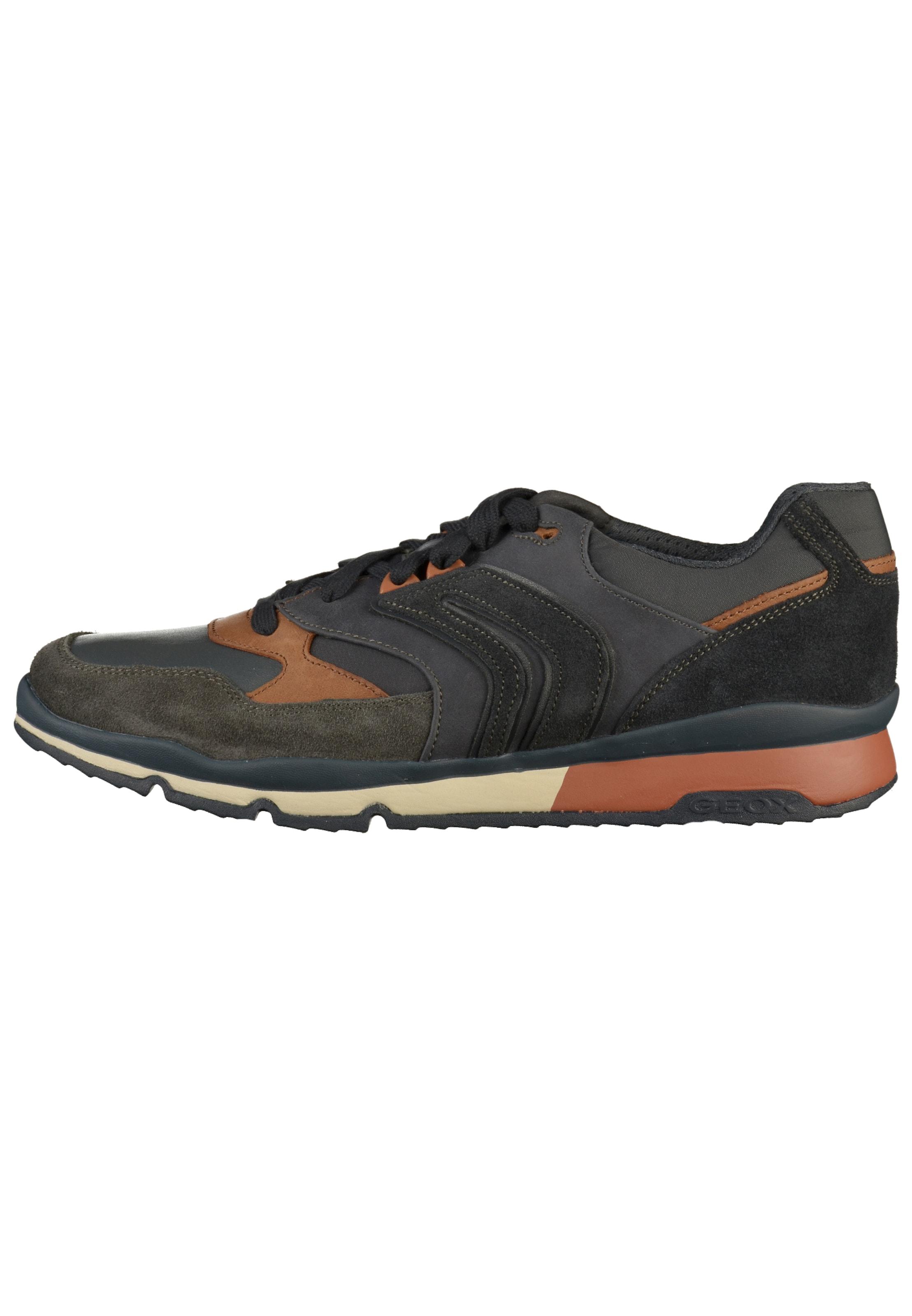 Sneaker Geox Geox In Oliv NavyHellbraun Sneaker NavyHellbraun Geox In Sneaker Oliv 34ARLc5jq