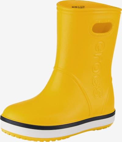 Crocs Gummistiefel 'Crocband' in gelb, Produktansicht