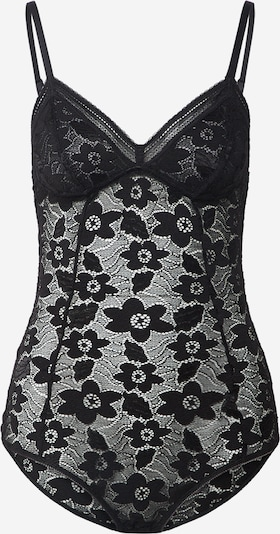 Samsoe Samsoe Lingerie body 'Maalika' in de kleur Zwart, Productweergave