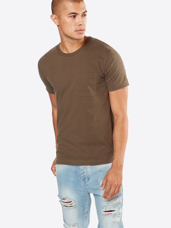 Nudie Jeans Co T-Shirt mit Brusttasche 'Kurt'