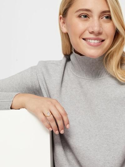 ID Fine Ovaler Magnolien Ring in gold: Frontalansicht