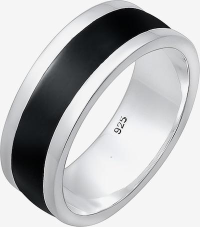 PAULO FANELLO Ring in de kleur Zwart / Zilver, Productweergave