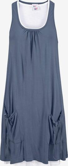BEACH TIME Strandkleid in rauchblau / taubenblau, Produktansicht