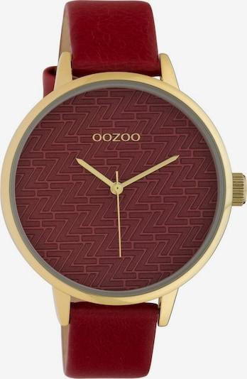 OOZOO OOZOO Quarzuhr »C10247« in gold / rot, Produktansicht