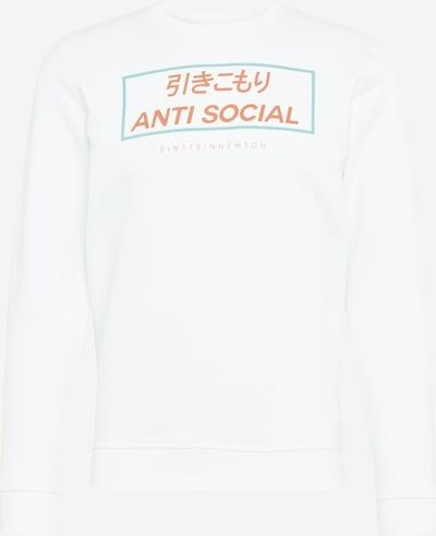EINSTEIN & NEWTON Sweatshirt in hellblau / orangerot / weiß, Produktansicht