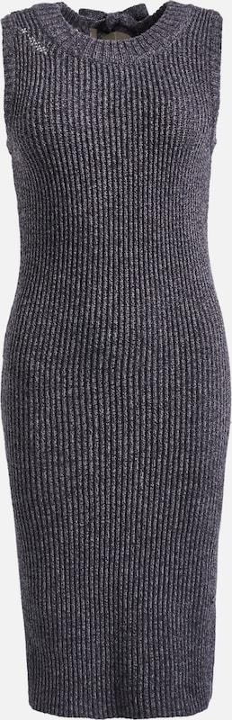 Khujo Kleid Kleid Kleid 'CINCIA' in taubenblau  Große Preissenkung e3bbab