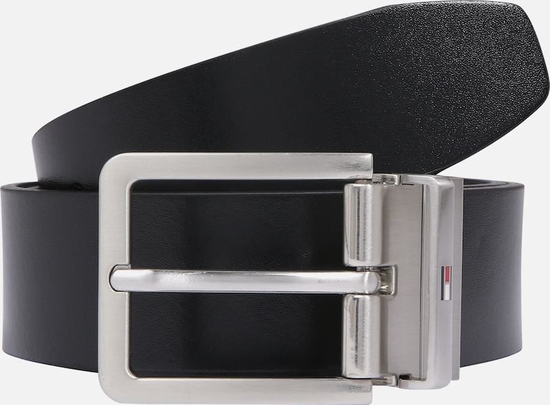 TOMMY HILFIGER Riem 'MODERN REV LEATHER BELT 3.5' in de kleur Zwart, Productweergave