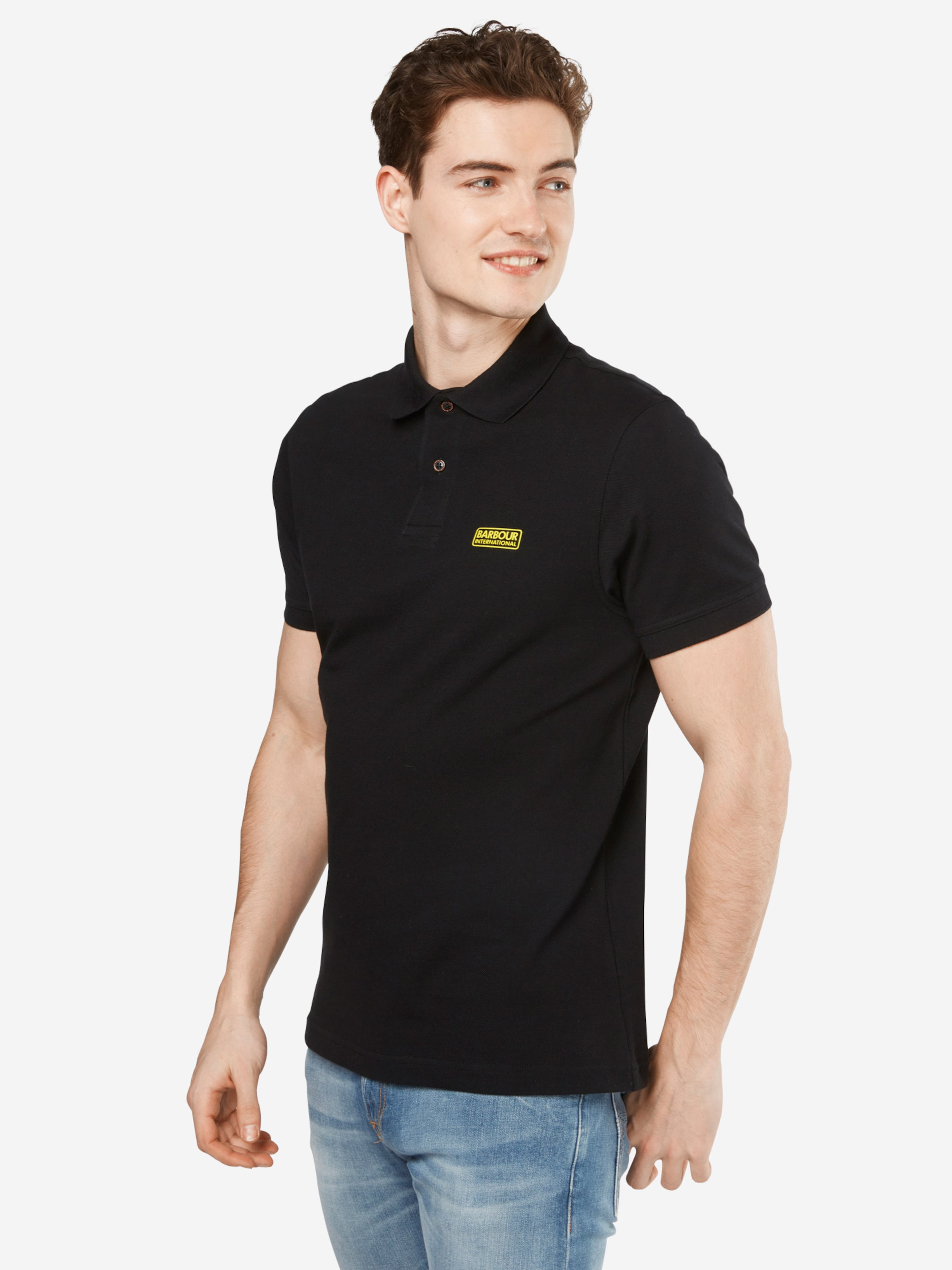 Barbour International Poloshirt 'International Essential' Steckdose Neuesten Original pBbkvQ40c