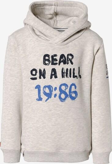 BASEFIELD Sweatshirt in beige / blau / grau, Produktansicht