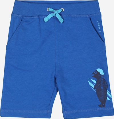 ESPRIT Pantalon en bleu foncé, Vue avec produit