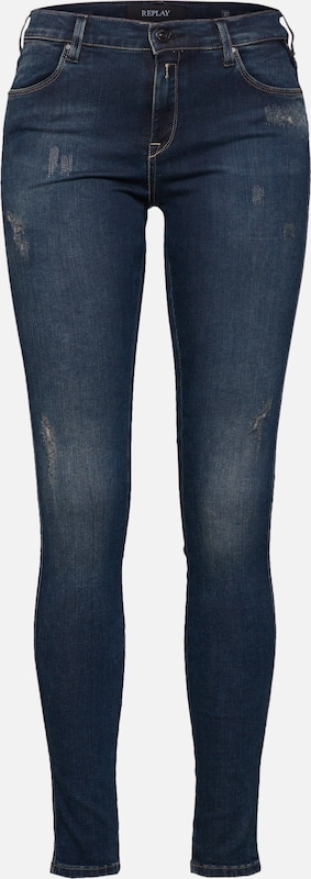 En Replay Denim Bleu 'stella' Jean ONwm8n0v