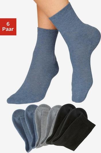 HIS JEANS Socken in grau, Produktansicht