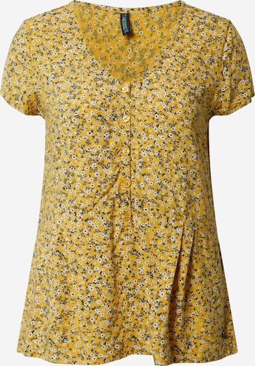 Tranquillo Blusenshirt 'Nuka' in gelb, Produktansicht