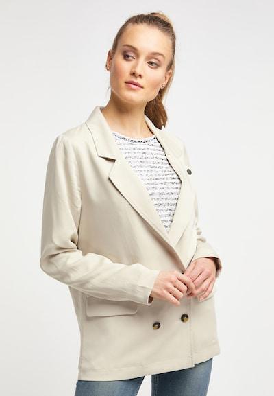 DREIMASTER Blazer in beige, Modelansicht