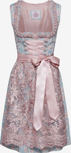 MARJO Dirndl 'Nescha II' | svetlo modra / roza barva, Prikaz izdelka
