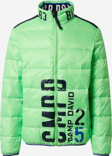 CAMP DAVID Jacke in neongrün, Produktansicht