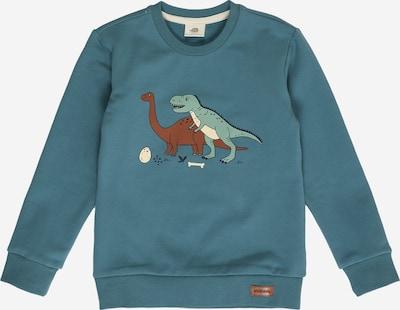 Walkiddy Sweatshirt in petrol / mischfarben, Produktansicht