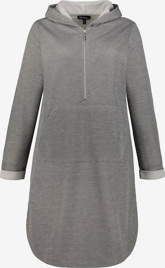 Ulla Popken Šaty 'Kapuzenkleid' - světle šedá, Produkt