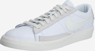 Nike Sportswear Trampki niskie 'Blazer' w kolorze platynowy / białym, Podgląd produktu