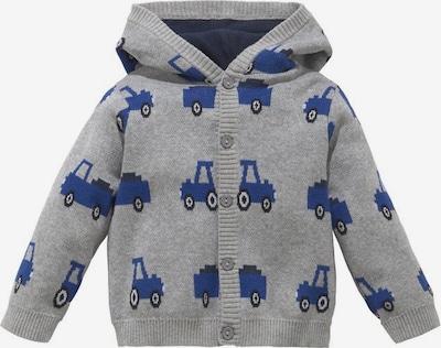 KLITZEKLEIN Jacke in blau / graumeliert, Produktansicht