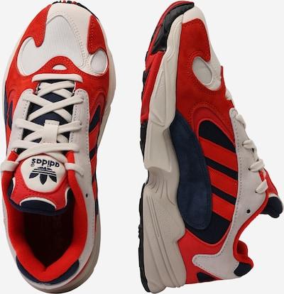 ADIDAS ORIGINALS Schuhe 'Yung 1' in beige / rot: Seitenansicht