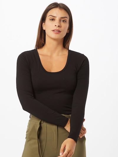 OBJECT Pullover 'KATE' in schwarz, Modelansicht