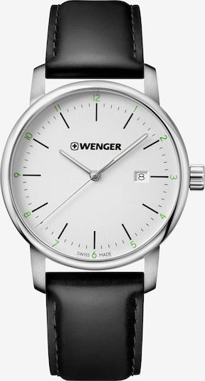 WENGER Montre à affichage analogique 'Urban Classic' en noir / argent / blanc, Vue avec produit