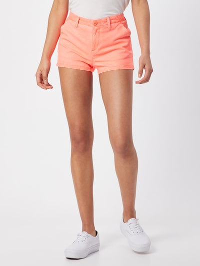 Superdry Shorts 'DESERT' in orange, Modelansicht