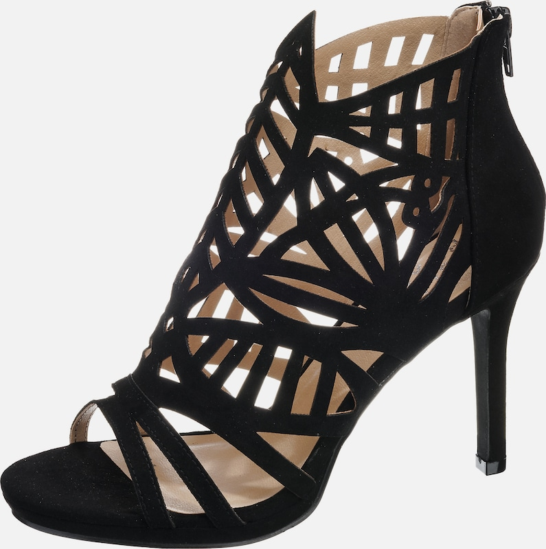BULLBOXER | High-Heels mit Cut-Outs