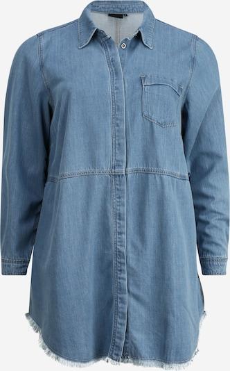 Zizzi Bluzka 'JESSIE' w kolorze niebieski denimm, Podgląd produktu