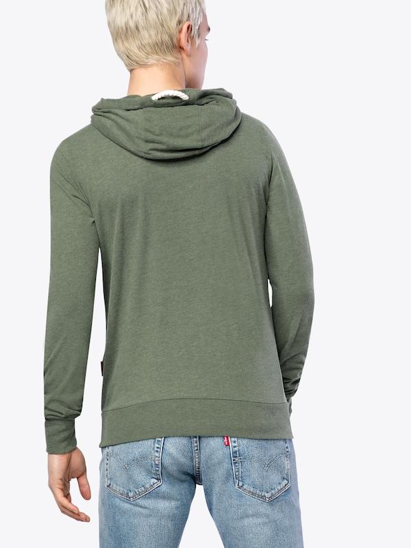 naketano Sweatshirt 'Diese Nüsse'