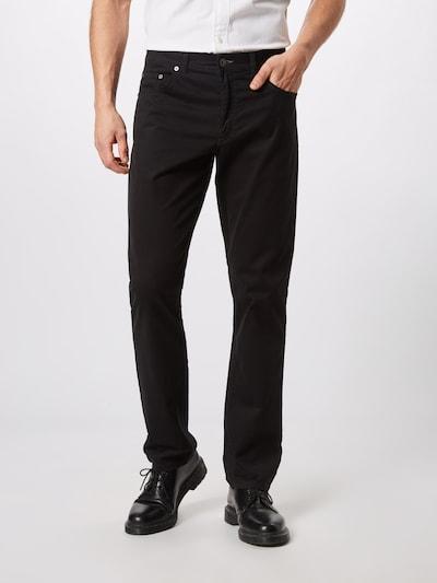 BRAX Hose 'cooper fancy' in schwarz: Frontalansicht