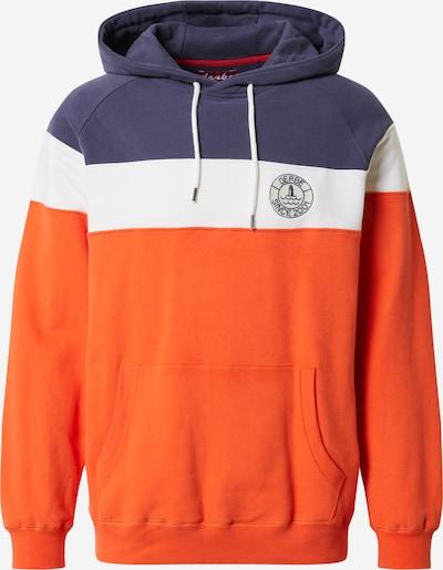 Derbe Majica 'Elblotse' | mornarska / temno oranžna / bela barva, Prikaz izdelka