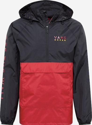 VANS Jacke 'VICTORY' in rot / schwarz, Produktansicht