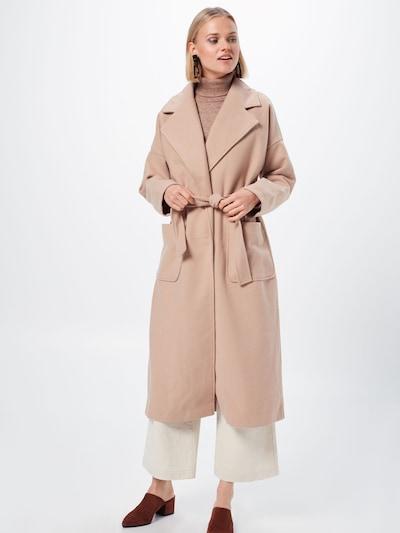 Rudeninis-žieminis paltas 'RACHEL' iš VILA , spalva - smėlio: Vaizdas iš priekio