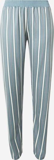 CALIDA Pantalon de pyjama en menthe / rouge / blanc, Vue avec produit