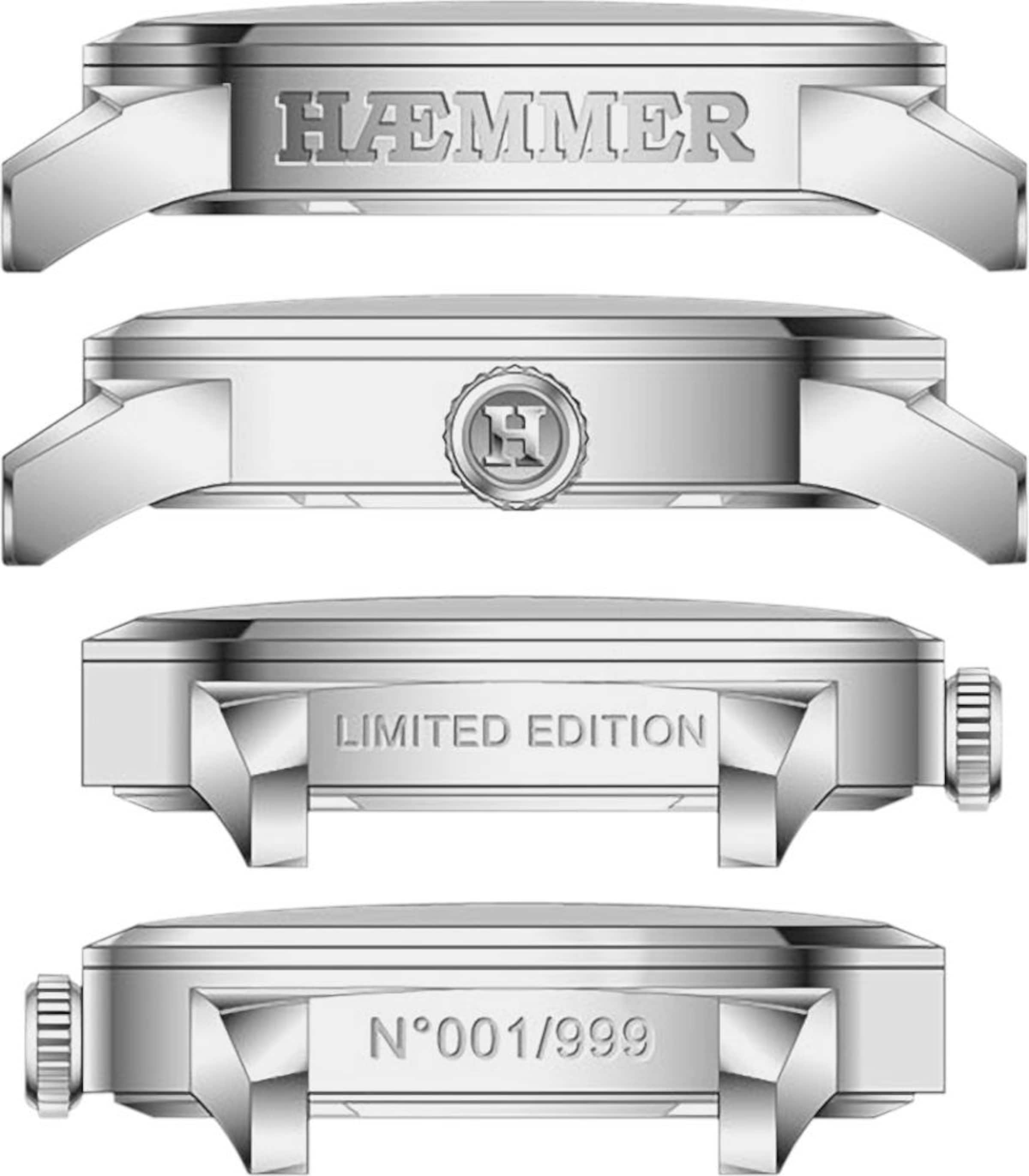HAEMMER HAEMMER GERMANY Quarzuhr 'HELSINKI, IN-03'