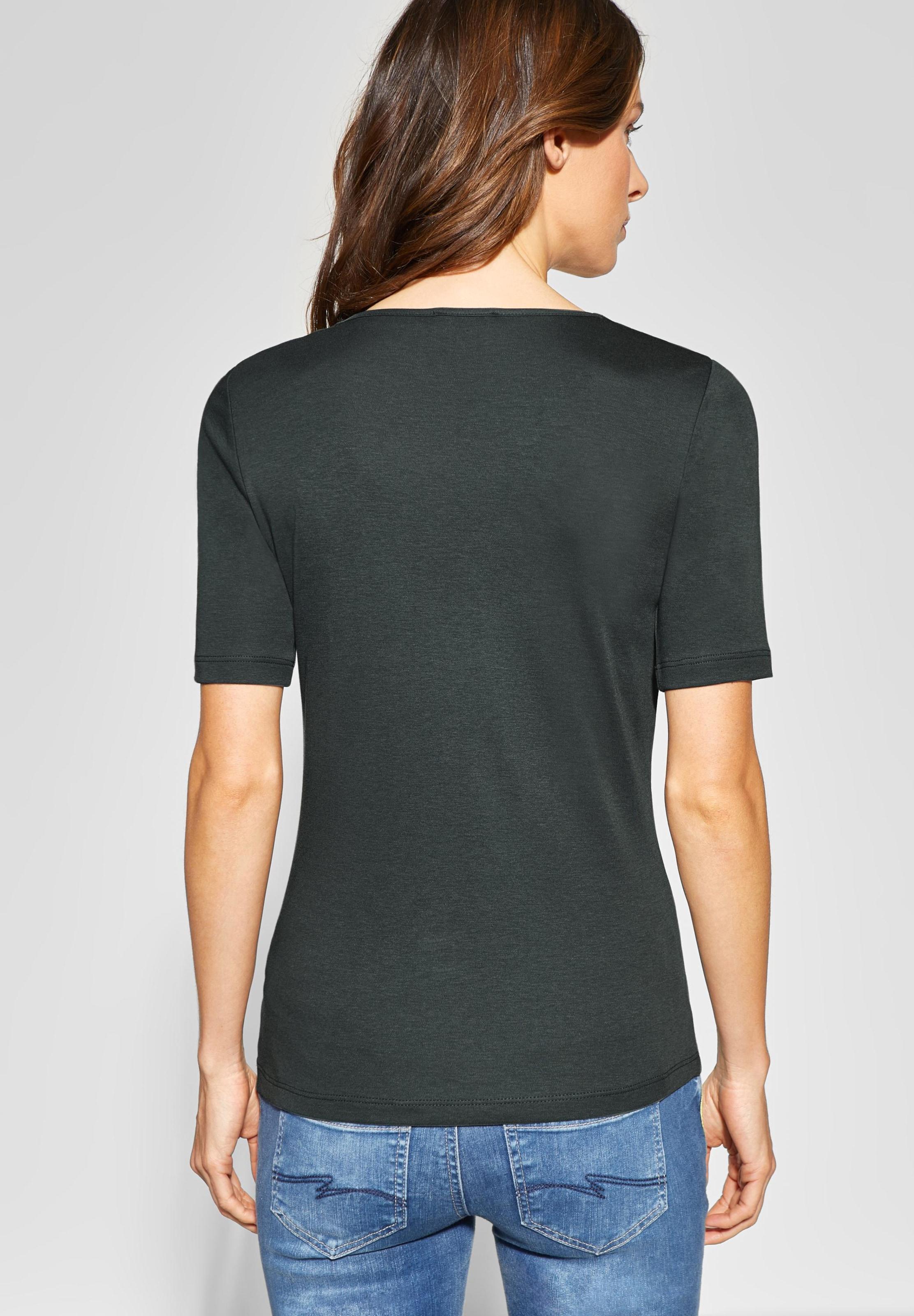 One Street Shirt Dunkelgrün 'palmira' In fY6yvgb7